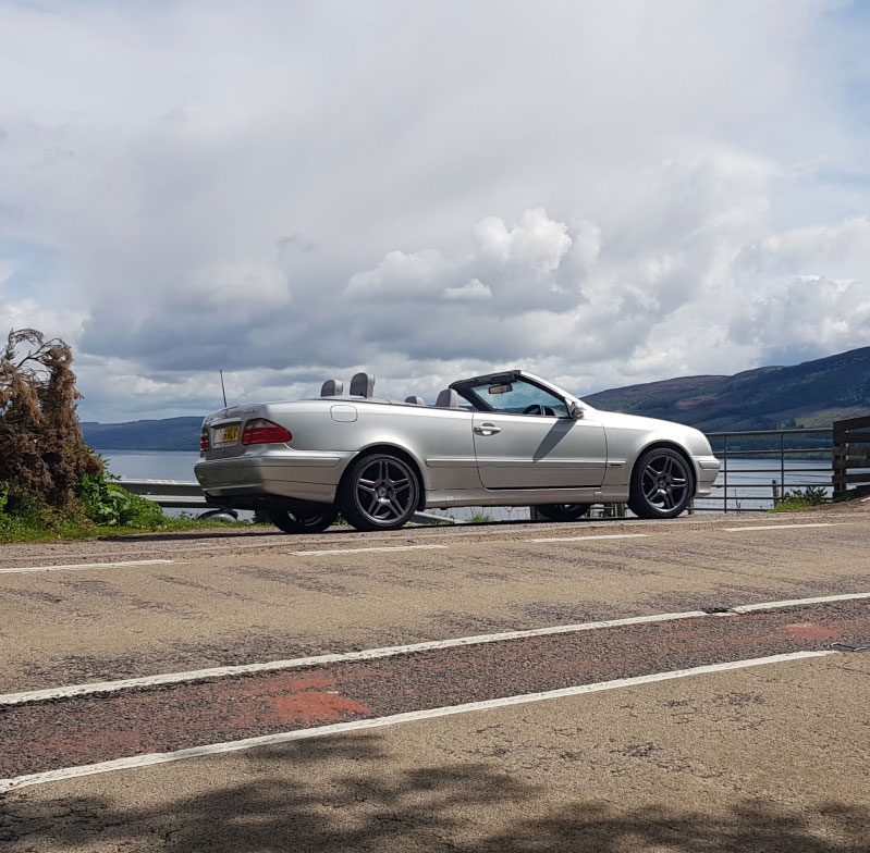 Mercedes CLK 320 Convertible Avantgarde