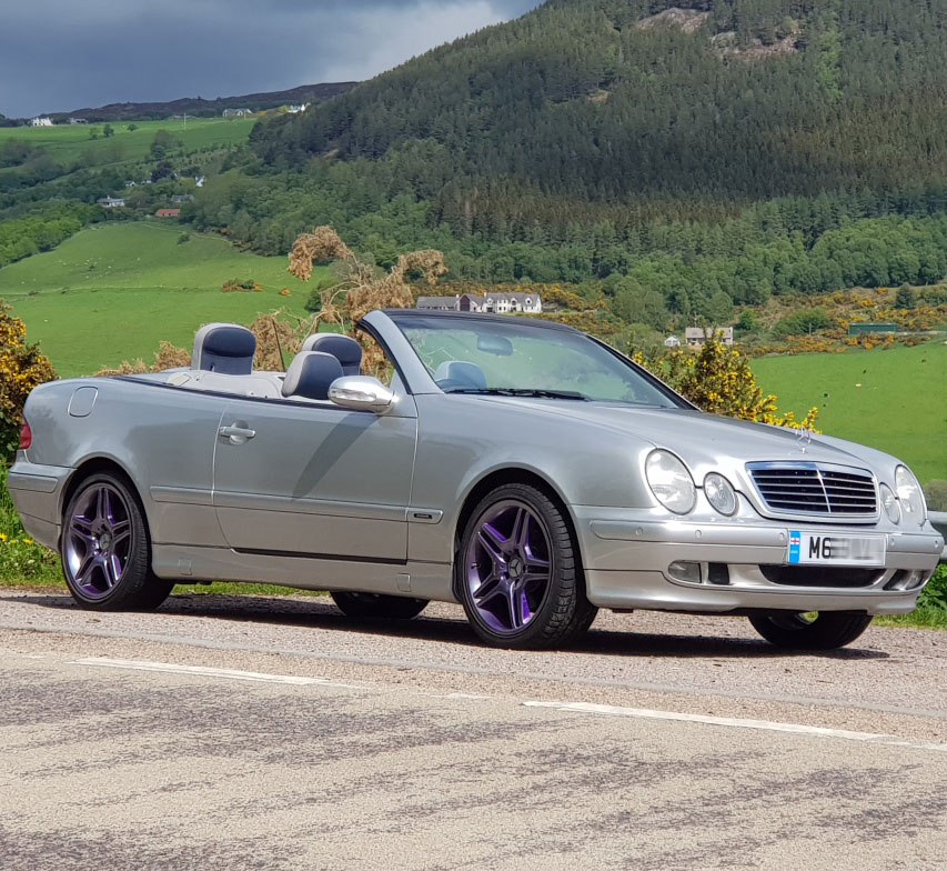 Mercedes CLK 320 Convertible Avantgarde
