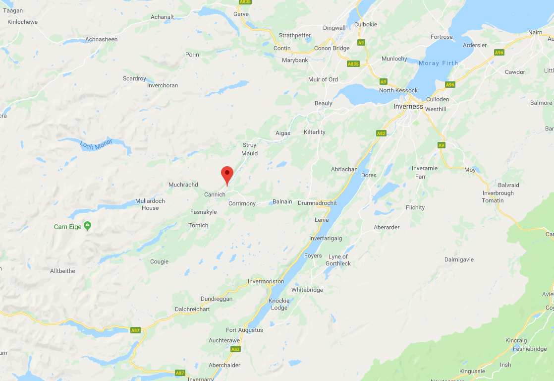 Highlands Luxury Car Rental Location Map